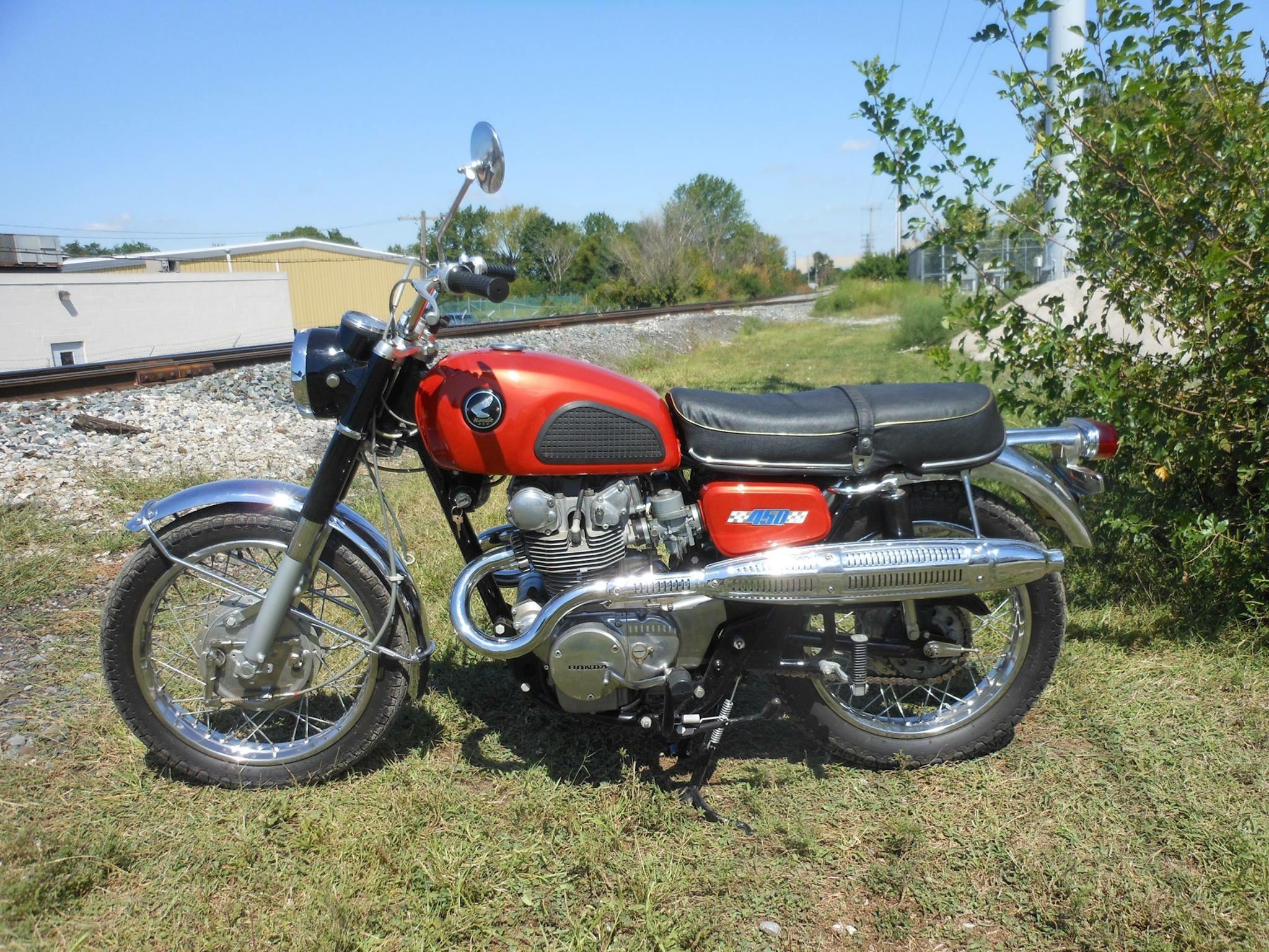 Honda  CB450D