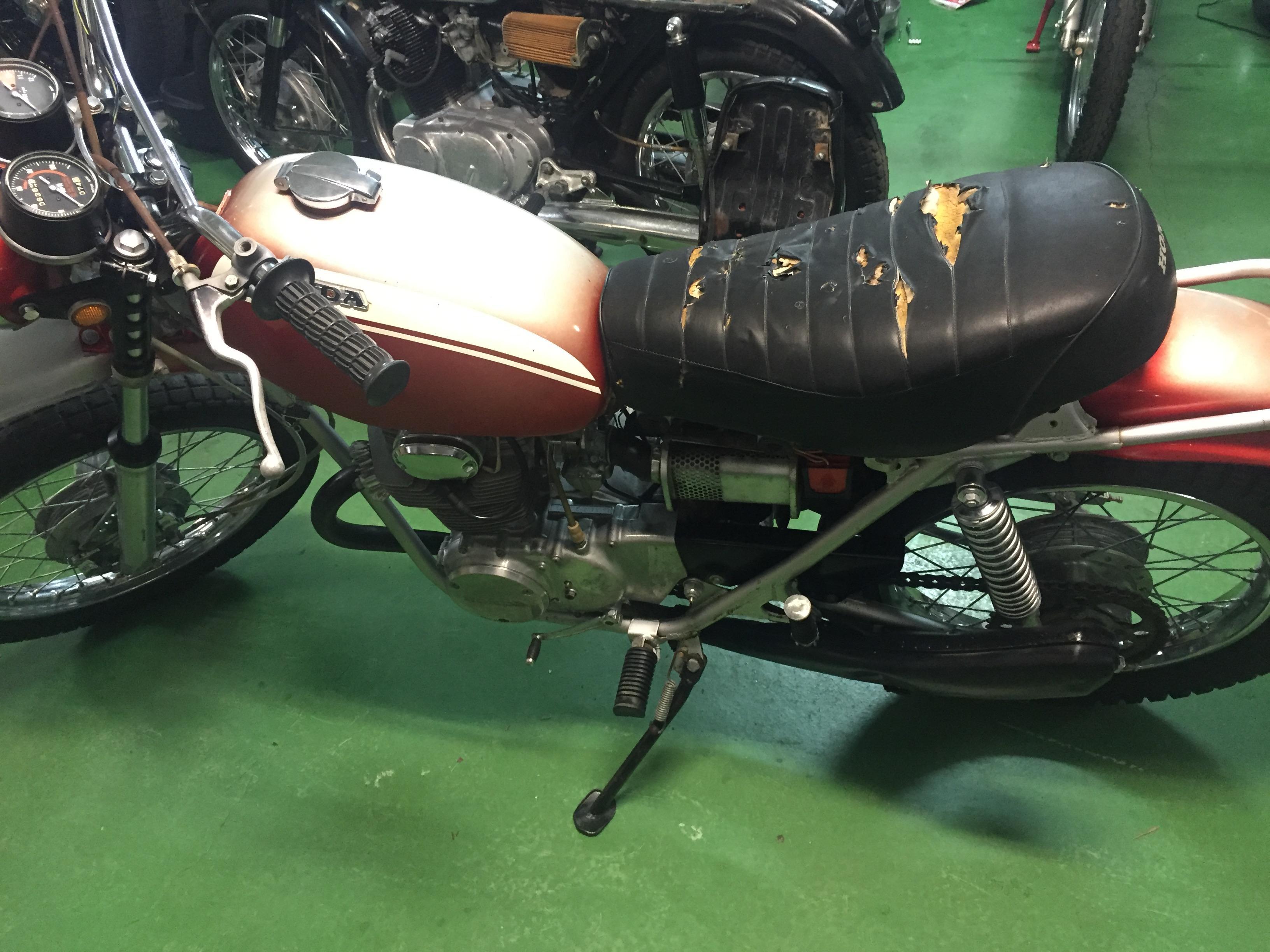 Honda SL350 K1 restoration